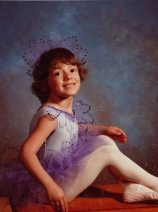 Feminist over-achiever from the beginning... in a tutu